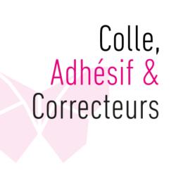 Colle, Adhésif & Correcteurs