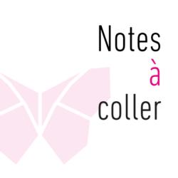 Notes à coller