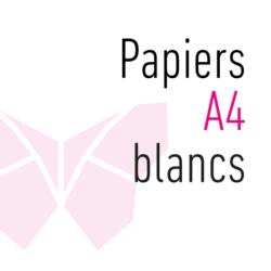 Papiers A4 blancs