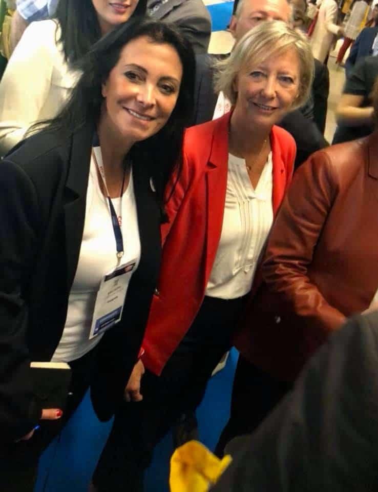 Présence de Sophie Cluzel secrétaire d'État aux Personnes Handicapées et Katia Dayan au salon handicap
