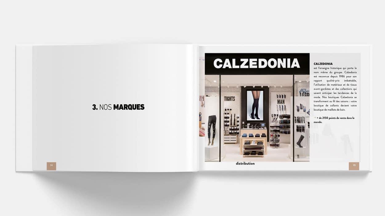 CALZEDONIA - Livret