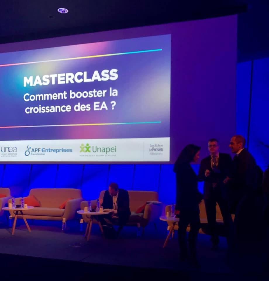 Participation à la conférence : comment booster la #croissance des #EA ?