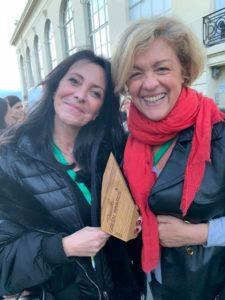 Katia Dayan et Franca Vissière - Green Awards - Deauville 2019