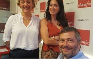Interview de Katia Dayan et Franca Vissière sur Vivre FM - Les Papillons de JourLes Papillons de Jour