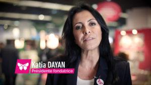 Retour en image : Katia Dayan, Présidente - Fondatrice Les Papillons de Jour, sur le Salon HandicapLes Papillons de Jour