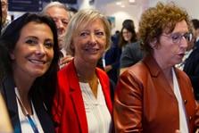 Katia Dayan aux côtés des ministres Sophie Cluzel et Muriel Pénicaud