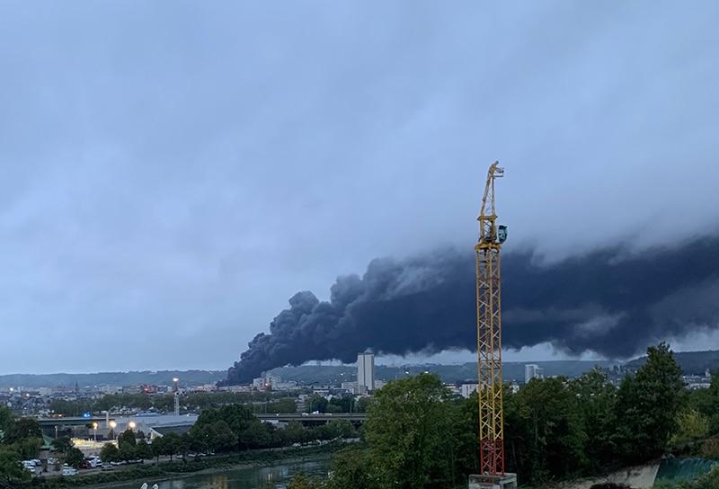 Incendie Lubrizol Rouen
