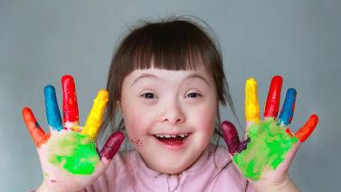 Les personnes avec une Trisomie sont toujours contentes* !