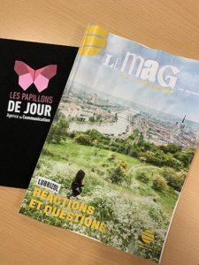 """Article """"Le Mag Métropole Rouen Normandie"""" Témoignage Lubrizol - Les Papillons de JourLes Papillons de Jour"""