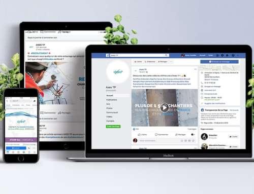 Axeo Tp – réseaux sociaux