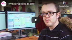 Interview de Jérémy Fortin Concepteur web sur TF1 - Les Papillons de JourLes Papillons de Jour