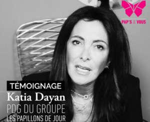 Katia DAYAN - PDG du groupe Les Papillons de Jour