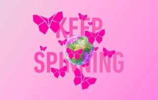 Keep SpinningLes Papillons de Jour