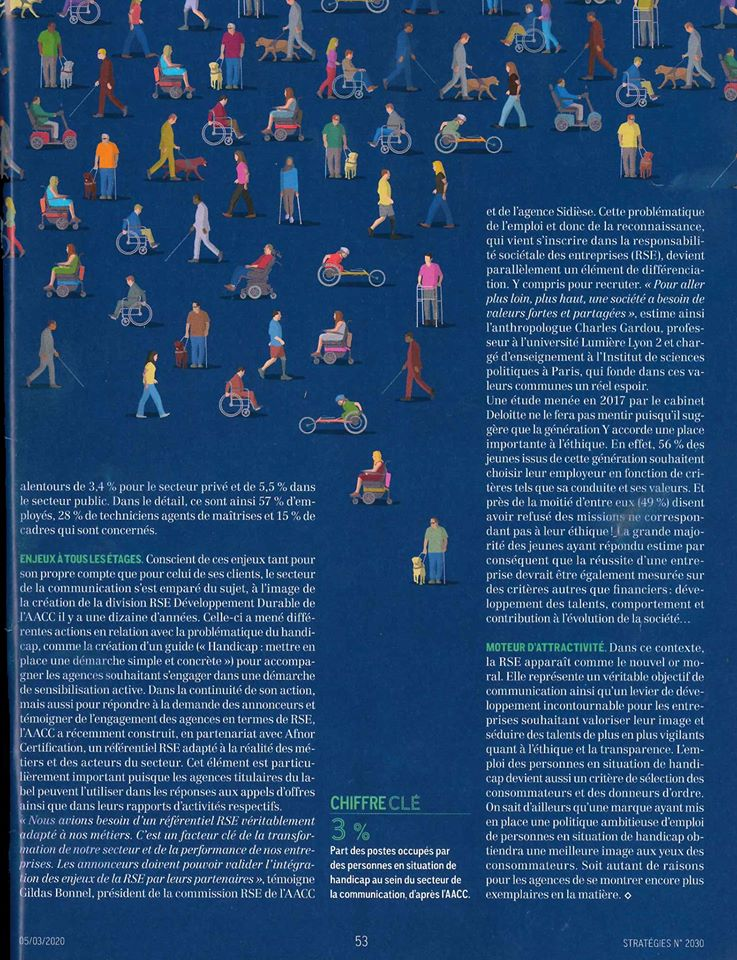 Magazine Strategies interview Katia Dayan Les papillons de Jour