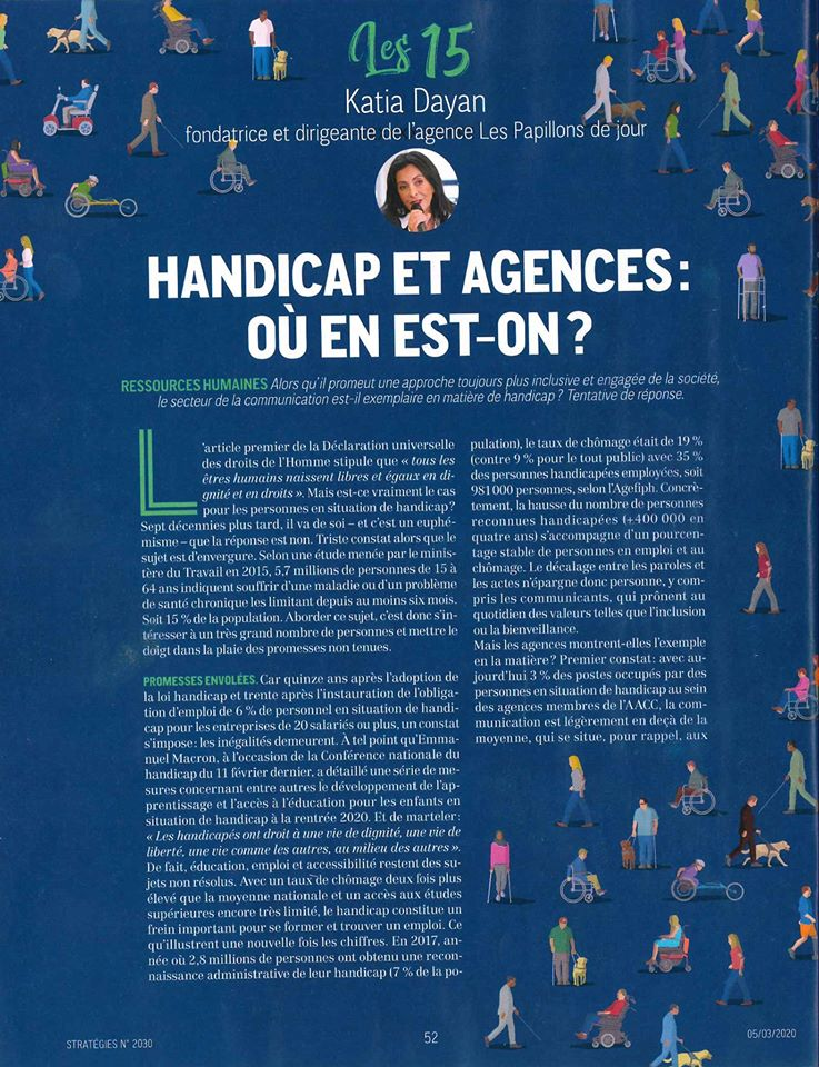 Magazine Strategies interview Katia Dayan