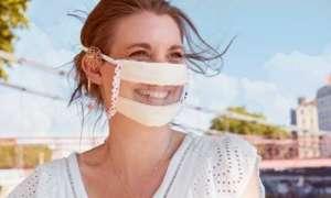 Masques transparentsLes Papillons de Jour