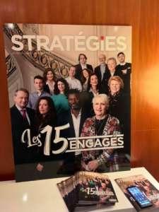 Stratégies les 15 engagés - Couverture