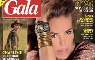 Katia Dayan dans le magazine GalaLes Papillons de Jour